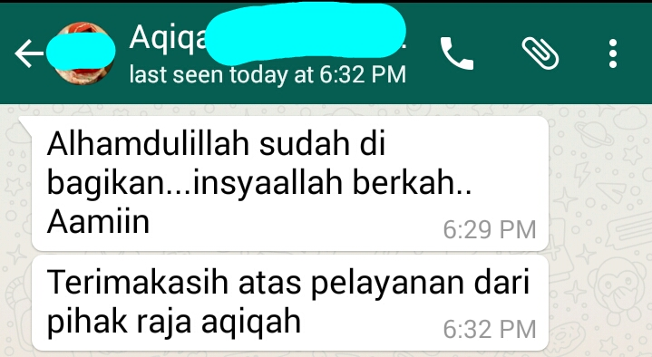 Jasa aqiqah Depok